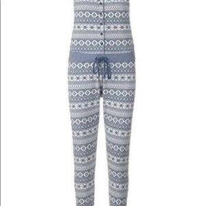 UGG Women's Nomie Jumpsuit Pajama Set